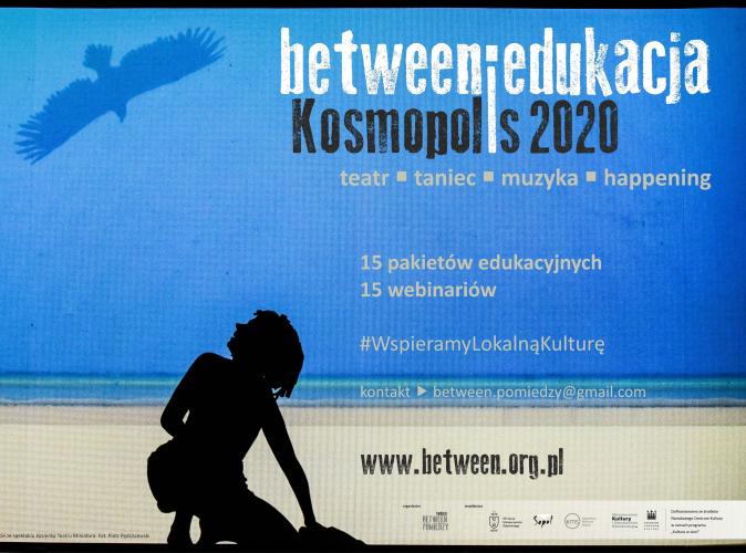 15 pakietów edukacyjnych Between.Edukacja: Kosmopolis 2020