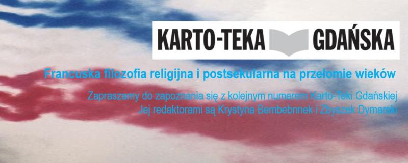 nowy numer Karto-Teki Gdańskiej