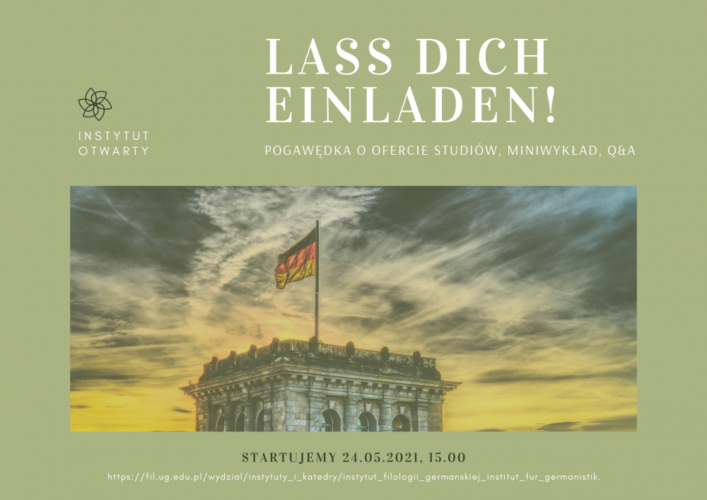 Plakat zaproszenie nadni otwarte IFG