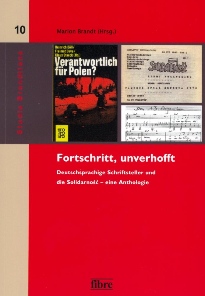 """okładka antologii """"Fortschritt, unverhofft"""""""