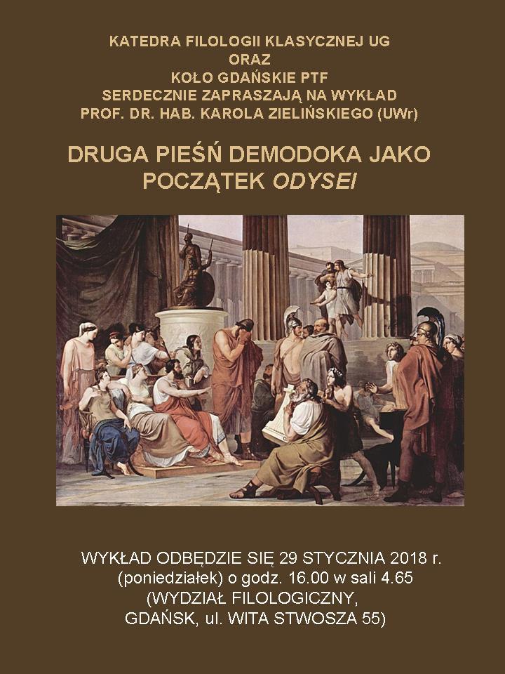 PTF - zaproszenie nawykład dr. hab. Karola Zielińskiego