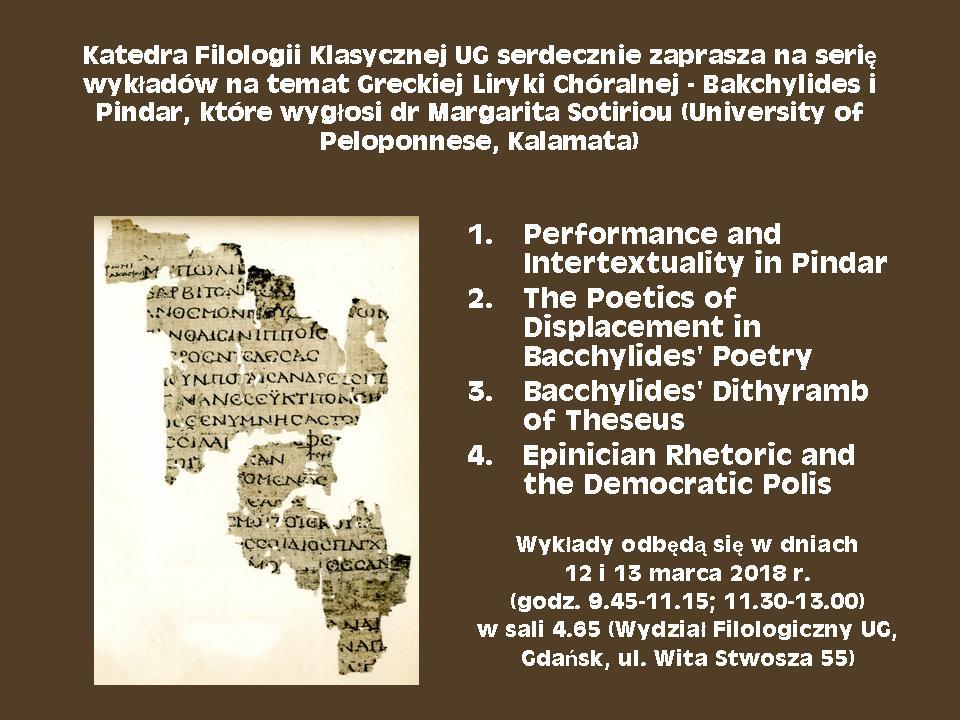 dr Margarita Sotiriou (University of Peloponnese)