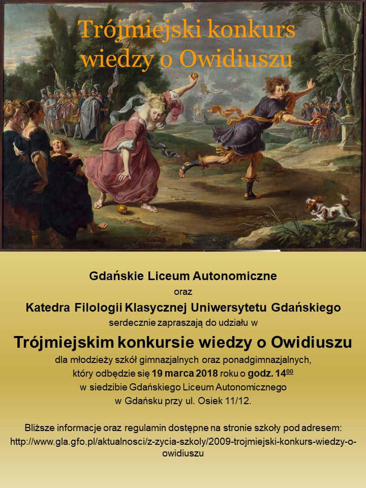 Gra miejska - rocznica Owidiańska