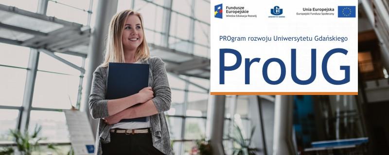 Baner reklamowy Projektu ProUG