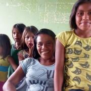 młodzież Huaorani zawsze chętnie rozmawiała o swoich planach na przyszłość