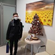 Bernard Orlikowski laureat II nagrody w konkursie Moje studia w pandemii