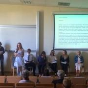 Helena Walczak czyta swoją prozę | Helena Walczak liest ihren Prosatext vor