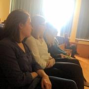 Słuchacze podczas drugiej części | Die Zuhörer während des zweiten Teils