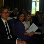 Niektórzy uczestnicy jeszcze przed odczytem | Einige Teilnehmer noch vor der Lesung