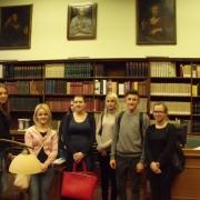 wizyta w bibliotece PAN