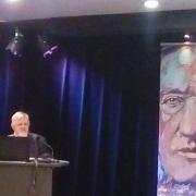 Prof. Michał Piotr Mrozowicki w trakcie wykładu